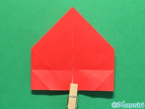 折り紙で立体的な花火の作り方手順27