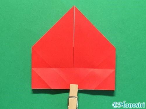 折り紙で立体的な花火の作り方手順28