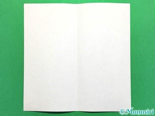 折り紙でかき氷の折り方手順2