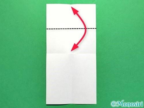 折り紙でかき氷の折り方手順6
