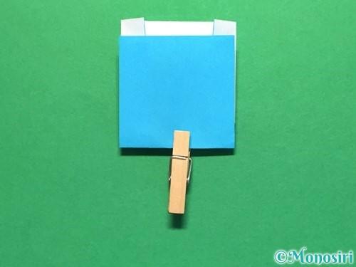 折り紙でかき氷の折り方手順13