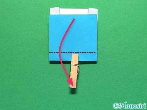 折り紙でかき氷の折り方手順14