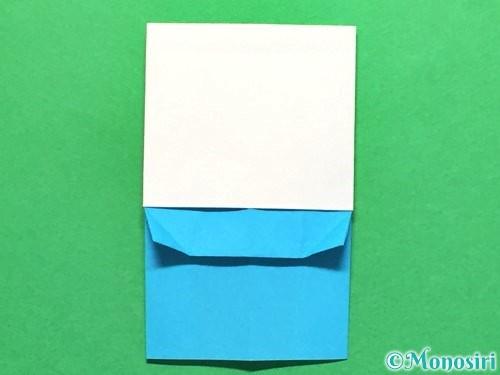 折り紙でかき氷の折り方手順19