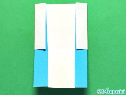 折り紙でかき氷の折り方手順20