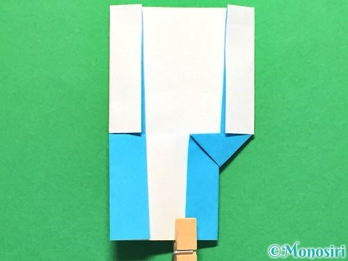 折り紙でかき氷の折り方手順25