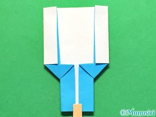 折り紙でかき氷の折り方手順26