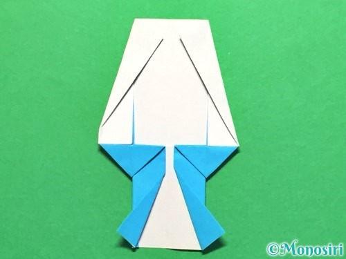折り紙でかき氷の折り方手順28