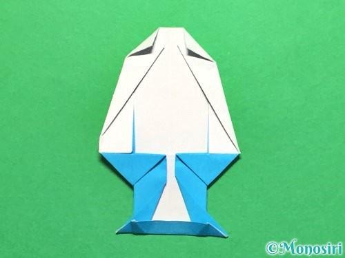 折り紙でかき氷の折り方手順30