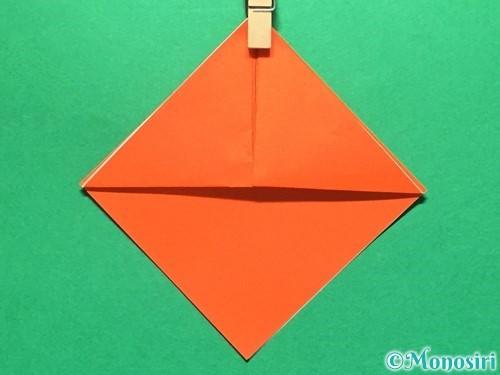 折り紙で金魚の折り方手順6