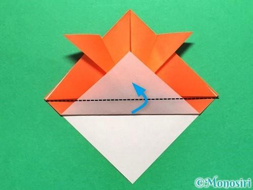 折り紙で金魚の折り方手順11
