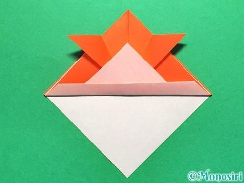 折り紙で金魚の折り方手順12