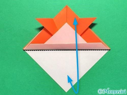 折り紙で金魚の折り方手順13