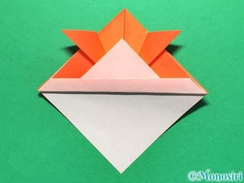 折り紙で金魚の折り方手順14