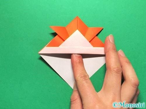 折り紙で金魚の折り方手順15