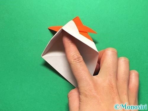 折り紙で金魚の折り方手順16