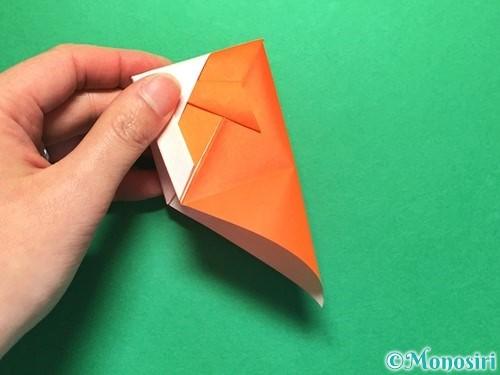 折り紙で金魚の折り方手順17