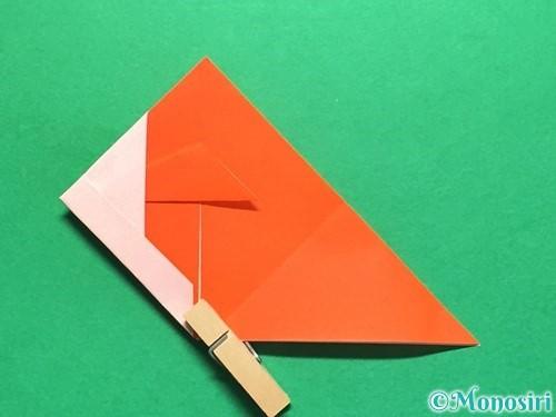 折り紙で金魚の折り方手順18