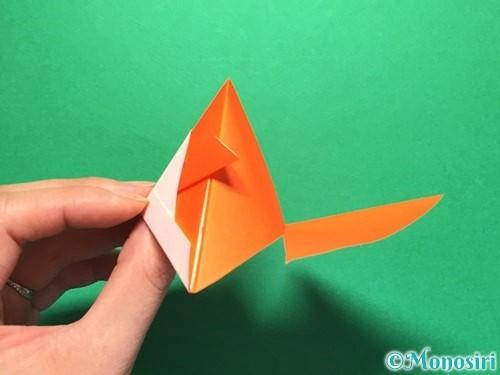 折り紙で金魚の折り方手順21