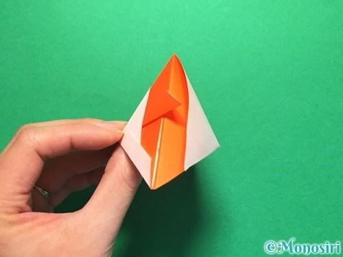 折り紙で金魚の折り方手順22