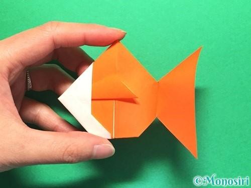 折り紙で金魚の折り方手順30