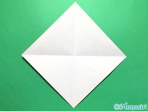 折り紙で立体的な金魚の折り方手順2