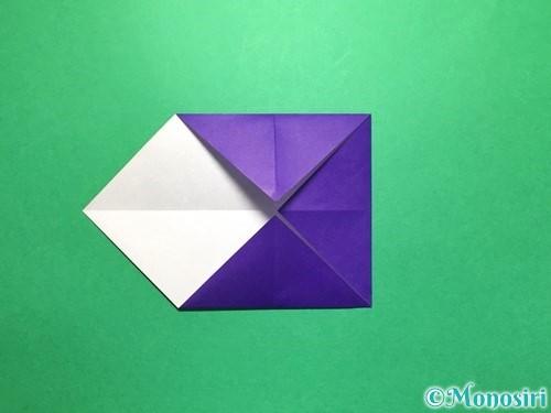 折り紙で立体的な金魚の折り方手順4