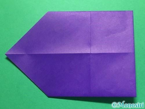 折り紙で立体的な金魚の折り方手順5