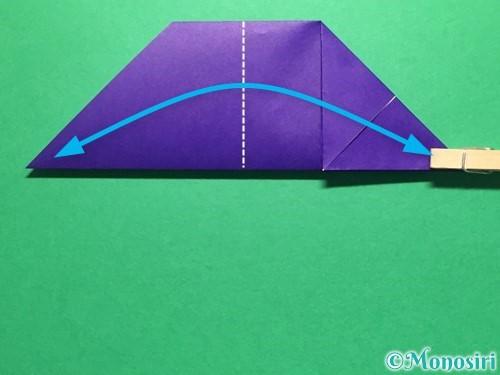折り紙で立体的な金魚の折り方手順10