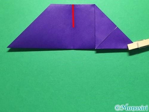 折り紙で立体的な金魚の折り方手順12