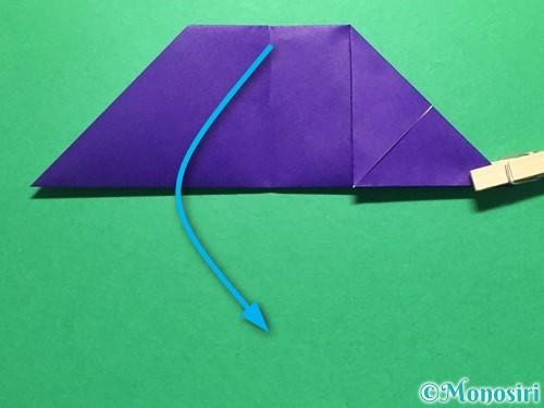 折り紙で立体的な金魚の折り方手順13