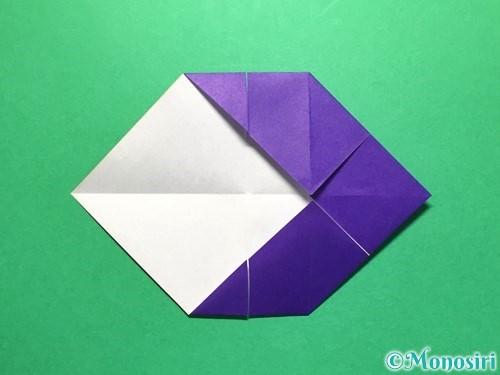 折り紙で立体的な金魚の折り方手順14