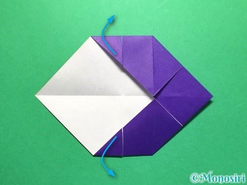 折り紙で立体的な金魚の折り方手順15