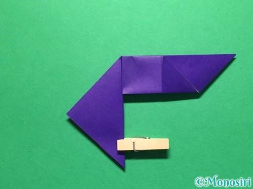 折り紙で立体的な金魚の折り方手順22