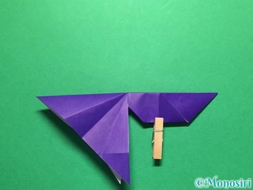 折り紙で立体的な金魚の折り方手順39