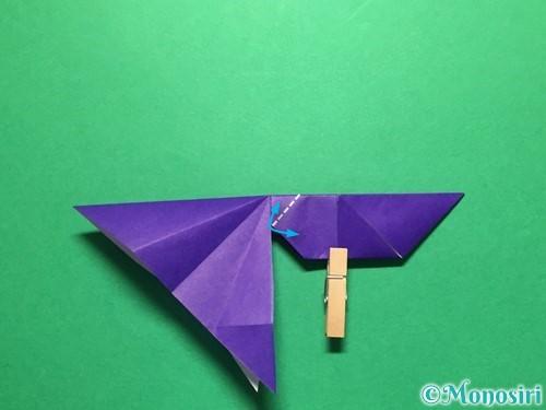折り紙で立体的な金魚の折り方手順40