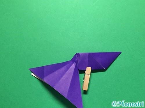 折り紙で立体的な金魚の折り方手順41