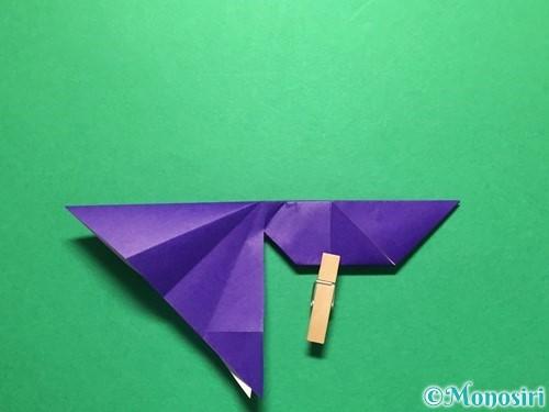 折り紙で立体的な金魚の折り方手順42