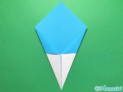 折り紙でうちわの折り方手順8