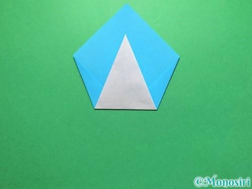 折り紙でうちわの折り方手順10