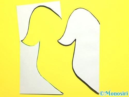 折り紙で朝顔の作り方手順19