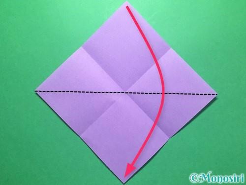 折り紙で朝顔の折り方手順3