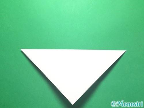 折り紙で朝顔の折り方手順4