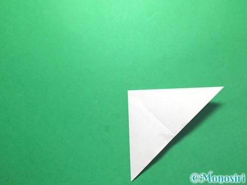 折り紙で朝顔の折り方手順6