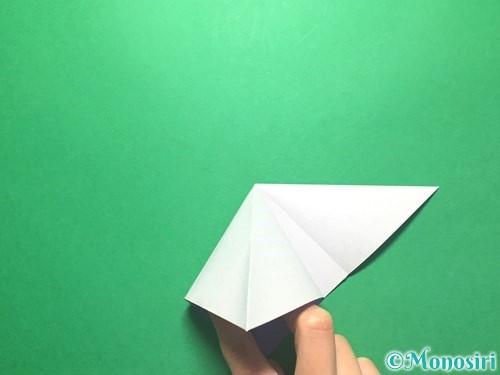 折り紙で朝顔の折り方手順8