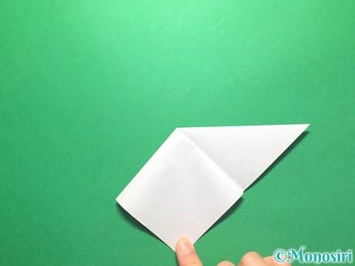 折り紙で朝顔の折り方手順9