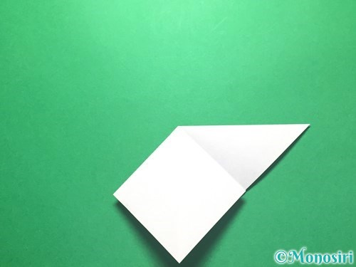 折り紙で朝顔の折り方手順10