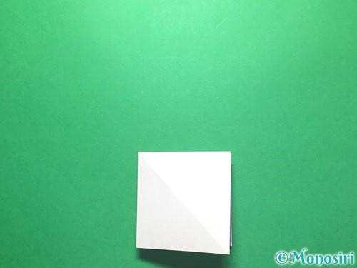 折り紙で朝顔の折り方手順11