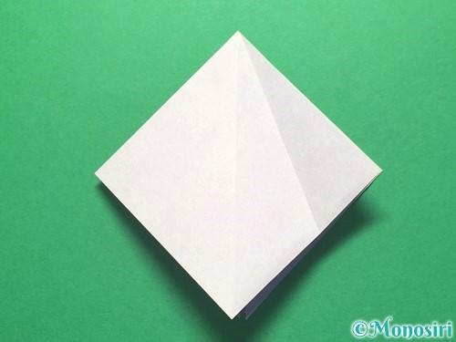 折り紙で朝顔の折り方手順13