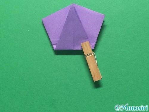 折り紙で朝顔の折り方手順36