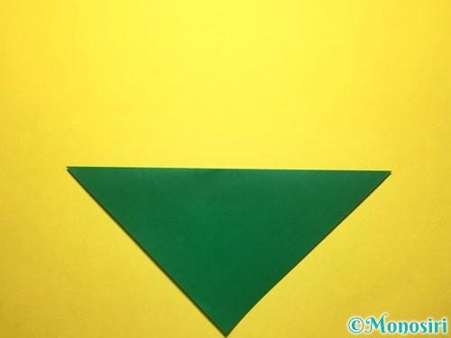 折り紙で朝顔の折り方手順49